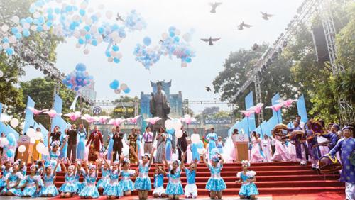 """Hà Nội gìn giữ danh hiệu """"thành phố vì hòa bình"""""""
